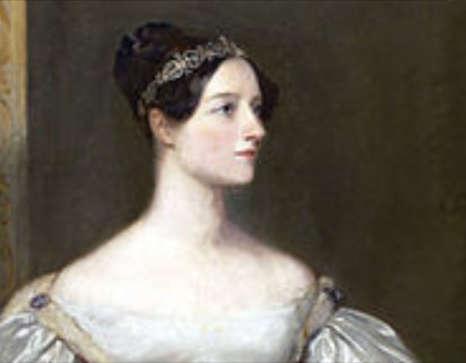 Portrait von Ada Lovelace (1836) Gemalt von Sarah Carpenter