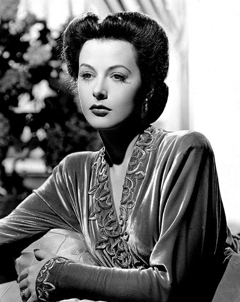 Portrait Hedy Lamarr